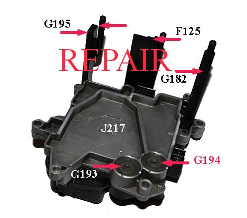 Ecu Repair Audi Transmission Controller Multitronic Vl300 Audi Multitronic 01j927156